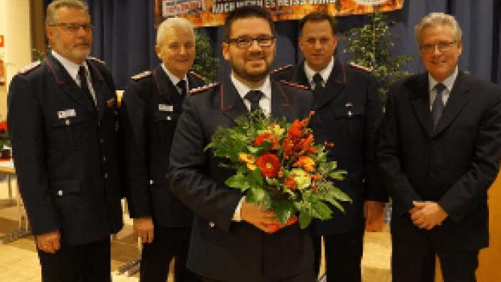 Patrick Böhning, neuer Gemeindewehrführer in der Gemeinde Scharbeutz